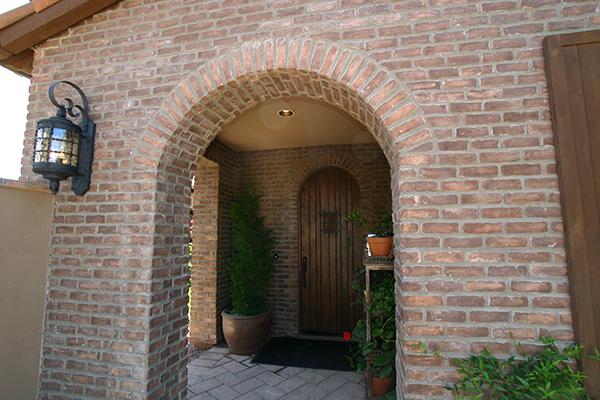 Instalar revestimiento de ladrillo en un nicho de arco gu a de alba iler a - Arcos de ladrillo rustico ...