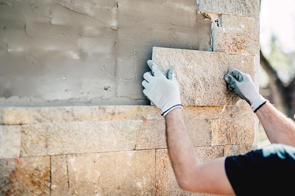 El Proceso De Instalar Revestimiento De Ladrillo Guia De Albanileria - Revestimiento-de-ladrillo
